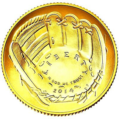 1 oz Liberty USA BaseBall COin finished in 999 24k Gold Medallion