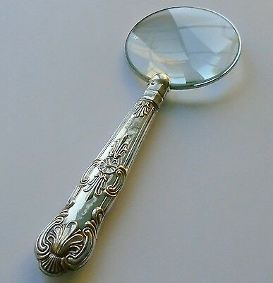 C.H.Beatson HM Silver Handle Magnifying Glass Sheffield 1931