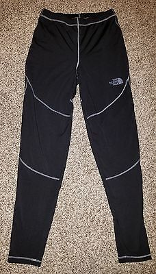 Womens Black North Face compression pants size large perfect condition