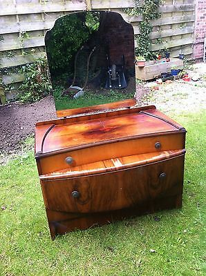 Antique Dressing table and matching wardrobe