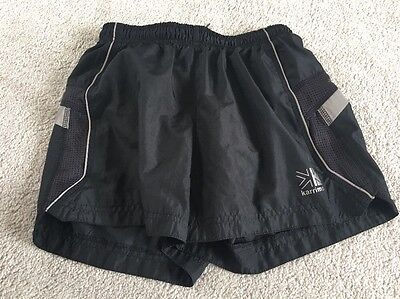 Karrimor Black Running Shorts Age 11-12