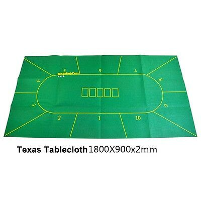 High quality Non-woven Fabrics Texas Hold'em Poker Board Felt Table cloth NEW