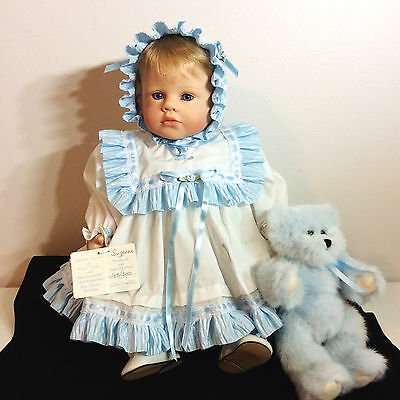 SUZANNE Lloyd Middleton Porcelain Royal Vienna Doll Collection Signed # 149/300