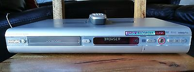 Philips DVDR615 dvd Recorder / Player and Remote