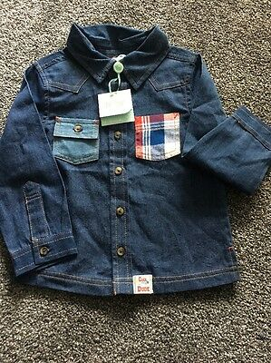 M&CO BOYS SHIRT 12-18 BNWT Cool Little Dude