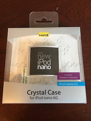 Logic 3 HARD CRYSTAL PLASTIC CASE FOR IPOD NANO 6TH GENERATION