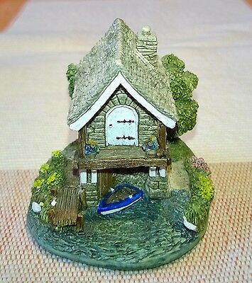 Lilliput Lane Miniature Ullswater Boat House 1998 Without Box and Deeds