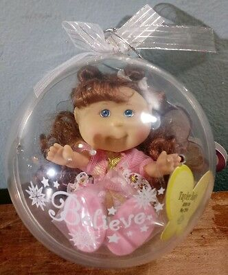 New Sealed Cabbage Patch Lil Sprouts Believe Ornament Tayler Ruby Born May29Th