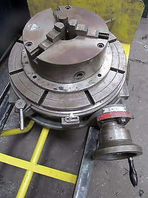 Large Rotary Table & 3 Jaw Chuck