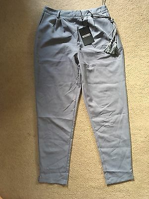 misguided Trousers Size 12 New With Tags