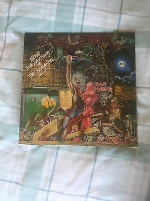 "Iron Maiden Bring Your Daughter To The Slaughter 12"" Picture Disc"