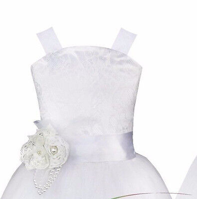 NEW ~ BRIDESMAID FLOWER GIRL COMMUNION BAPTISM DRESS ~  Size 14 ~