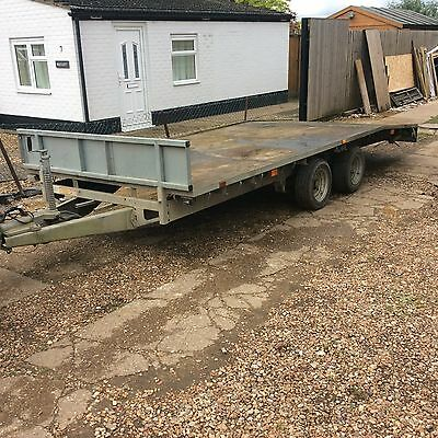Ifor Williams 16ft Beaver tail Trailer
