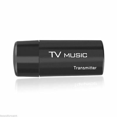 3.5mm USB Bluetooth Transmitter Stereo Audio Music Dongle Adapter for TV