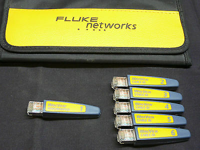 Fluke Networks WireView 1-6 WireMap Set #1 - #6.  Complete set.