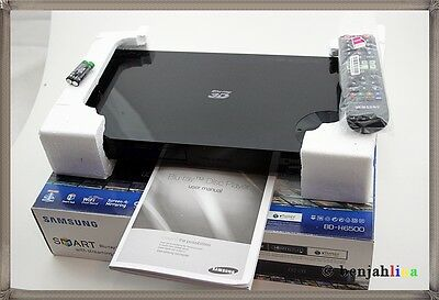 Samsung BD-H6500 3D Blu-ray-Player UltraHD Upscaling WLAN Smart Hub schwarz TOP