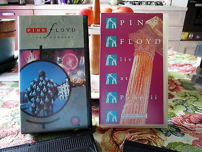 Pink Floyd-Delicate Sound Of Thunder+Live At Pompei--2 Vhs----