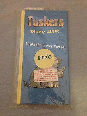 BNIB New Boxed TUSKERS 2006 DIARY #80202 Country Artists SEALED