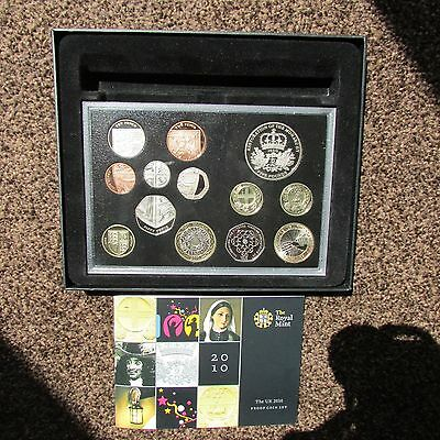 2010 Royal Mint UK Deluxe Proof 13-Coin Year Set Includes Commemoratives