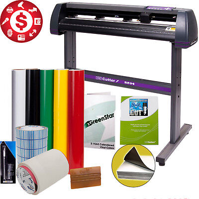 "34"" Sing Making Kit Vinyl Cutter Design Cut Software Professional Supplies Tools"