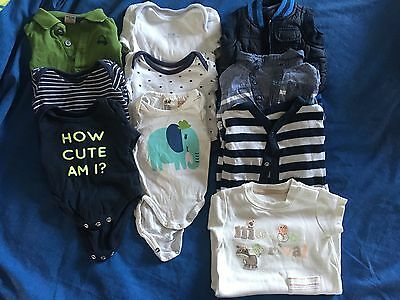 Newborn, Tiny Baby, Up To One Month Boys Bundle 31 Items!!!