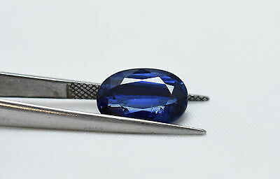 7.00cts100% Natural Faceted Kyanite Oval Cut Loose Gemstone Size 12X16