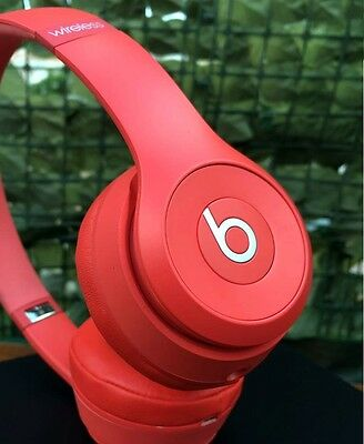 Cuffie Beats Solo 3 wireless RED , Solo3 by Dr.Dre