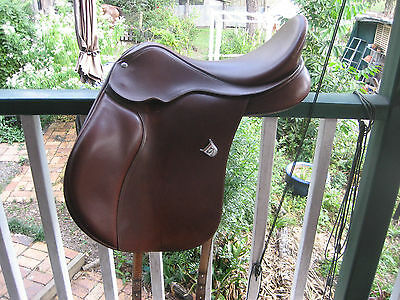 Bates   Leather   All  Purpose /  Hunter   Under   Saddle