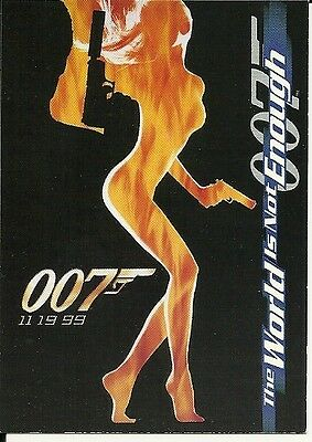 James Bond The World is Not Enough  promo  P1
