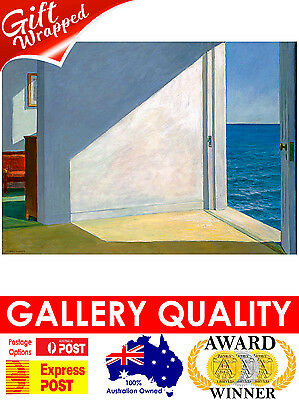 NEW Edward Hopper, Rooms by the Sea, 1951, Ashcan Giclee Art Print or Canvas