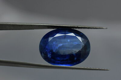 14.50 cts100% Natural Faceted Kyanite Oval Cut Loose kyanite Gemstone Size11x16