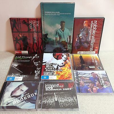 Robbie Williams Live 1997-2006 DVD Live At Knebworth In And Out Of Consciousness