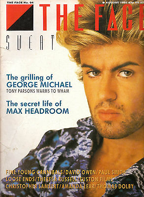 The Face Magazine August 1985 George Michael Wham