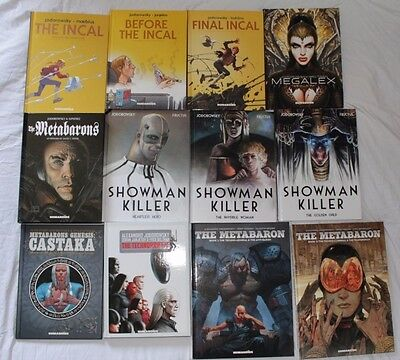 12 x JODOROWSKY Graphic Novel HB Collection - Incal Metabaron Technopriest MINT
