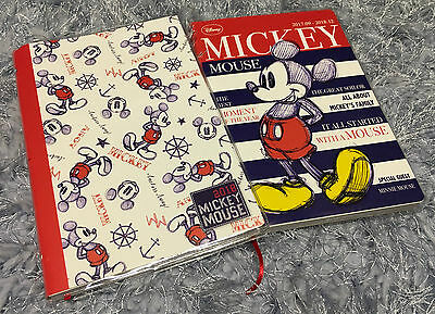 2018 Disney Mickey Mouse Schedule Book Minnie Diary Note Memo Gift Weekly Plan