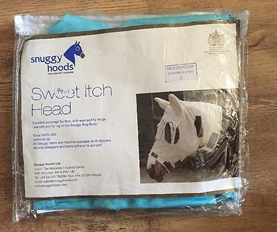 Snuggy Hoods Sweet Itch Head Size S Rrp £45