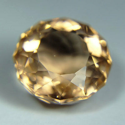 18.10cts.AWESOME PEACH SAPPHIRE ROUND LOOSE GEMSTONE