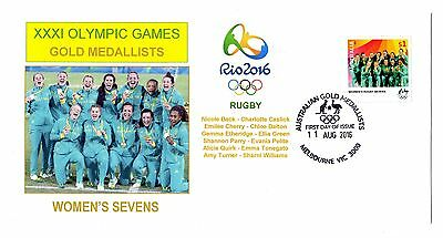 Rio Olympics Gold Medallist Women's Rugby Sevens FDC