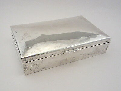 Vintage Egyptian .900 Silver Box / Cairo, 1948 / 572 Grams