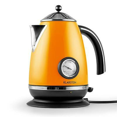 Electric Cordless Tea Kettle Kitchen 2200 W Quick Boil Thermometer