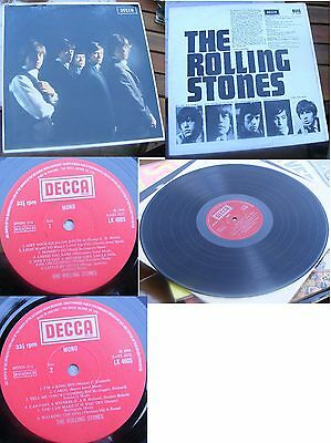 THE ROLLING STONES-1st LP ST STEREO UK early  PRESS RARE NM