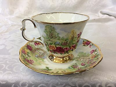 Royal Albert Old Country Roses Garden Cup & Saucer