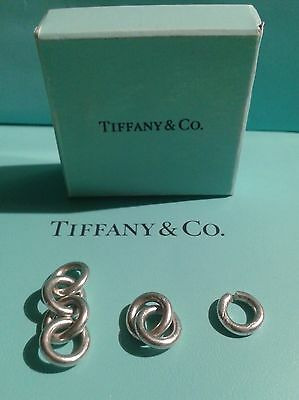 TIFFANY & CO. Extra 7 ea. Rolo Chain Links X 15mm fully closed round for Repair
