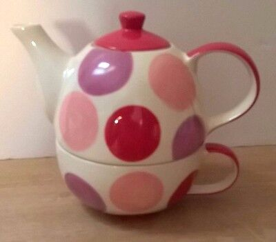 Tea for One - Teapot+Cup, Unused