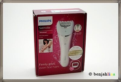 Philips Satinelle Advanced Wet und Dry Epilierer BRE610/00 wasserdicht Rasierer
