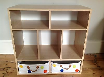 Children's bookcase and storage unit from GLTC - excellent condition