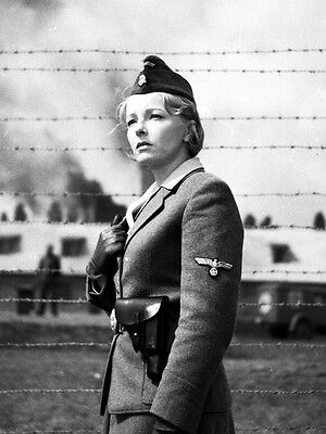 WW 2 ~ German  Photo ~~  .. Female Concentration Camp Guard