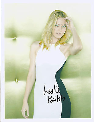 Leslie Bibbs Signed 8X10 Photo Coa From N.a. # 59316