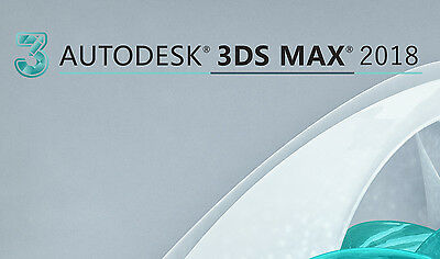 Autodesk 3Ds Max 2018 - 3 years license - Win - Multi languages