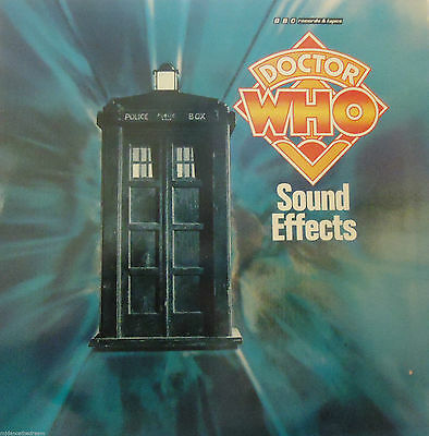 DOCTOR WHO - Sound Effects ~ VINYL LP signed by Dick Mills